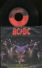 AC/DC 45 TOURS HOLLANDE LET'S GET IT UP