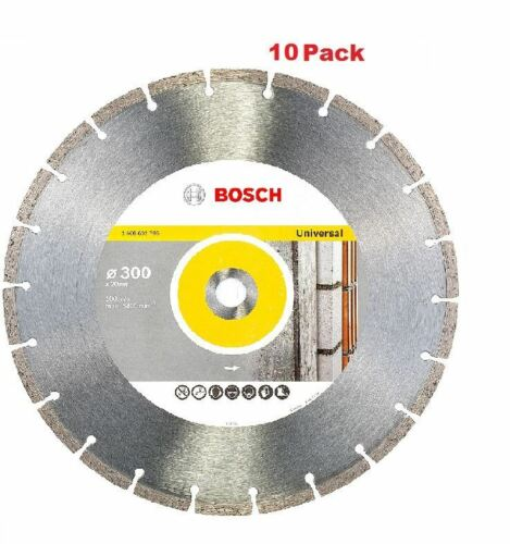 Bosch Pro Universal Standard Diamond blade 300mm bore of 20mm  2608602796//10