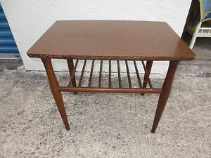 End Table Mid Century Modern Baumritter Side Eames Viko