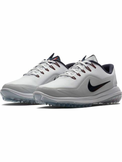 Absolutamente Oferta Cíclope  Nike Lunar Control III 3 Mens Golf Shoes Spikes Sz 10 White Volt Black for  sale | eBay