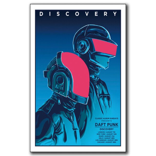 Daft Punk The Weeknd Starboy Art Hot 12x18 24x36in FABRIC ...