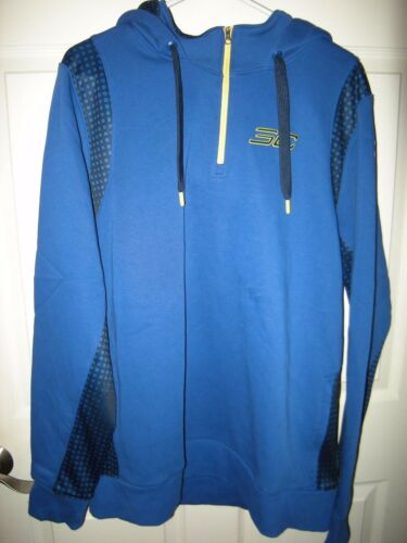 Brand New Mens Blue /& Yellow Under Armour Stephen Curry Hoodie Size XL