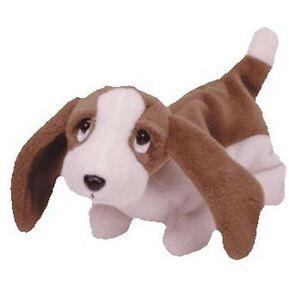 Image is loading TY-Beanie-Baby-TRACKER-the-Basset-Hound 7f44efd1761