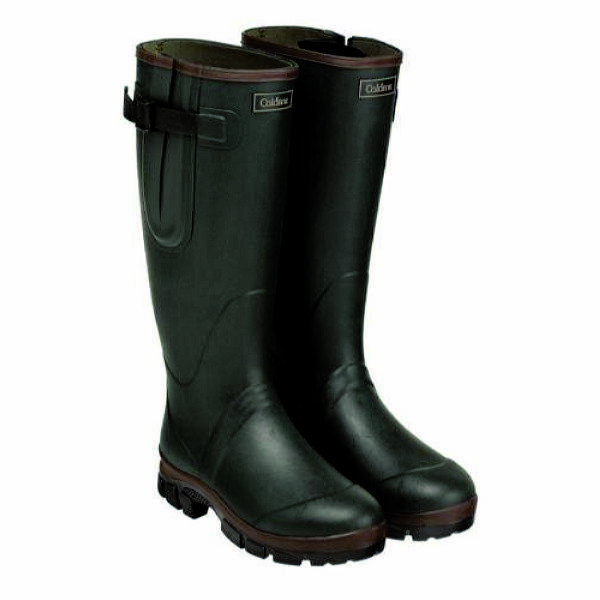 Caldene Equestrian  Unisex Neoprene Lined Green Westfield Wellington Boots  high quality & fast shipping
