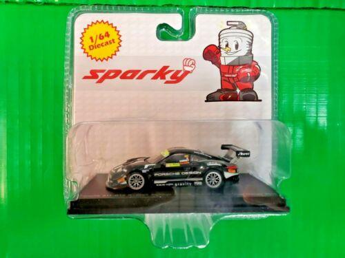 Sparky 1:64 Porsche 911 GT3 R #991Black FIA GT World Cup Macau Jaminet NEW