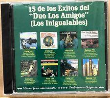 DUO LOS AMIGOS - 15 EXITOS - CD