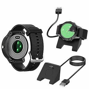 USB-Ladegeraet-Kable-Cord-fuer-Garmin-Vivoactive-3-4-Fenix-5-Serie-Fitness-Tracker