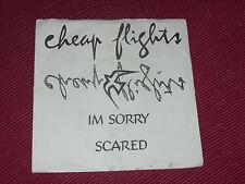 "Cheap Flights:  I'm Sorry  7""  Very rare 1978  KBD"