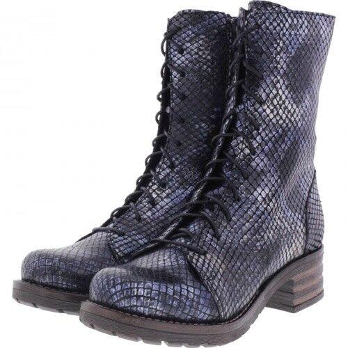 Brako   Modell  Military Tay   Marino Blau Metallic Leder   Stiefel   Art  8470
