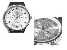 MADISON New York - Armbanduhr mit Datum & Wochentag - Chrono-Date analog - Edel