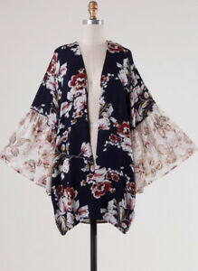 Open-Front-Floral-Print-Bell-Sleeve-Kimono-Top-Loose-Flowy-Boho-Casual-Cardigan