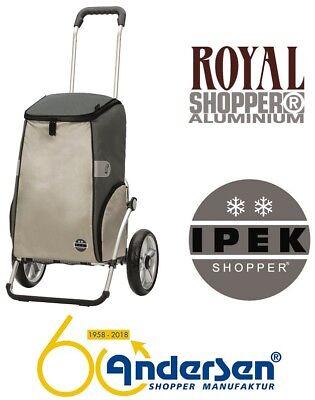Andersen Royal Shopper Ipek Einkaufstrolley Einkaufswagen Kühltasche Thermo