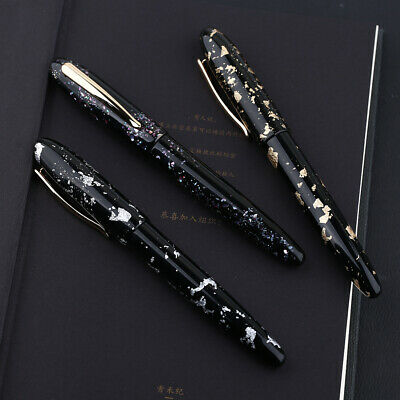 2019 Moonman M8 Fountain Pen Colorful Acrylic Luxury Pen Fine Nib Converter Gift