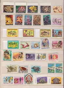 Papua-New-Guinea-Stamp-lot-K-335