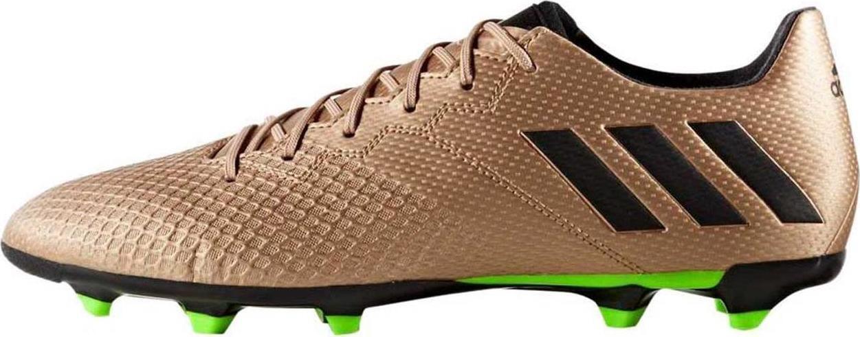 adidas Herren Messi 16.3 FG Fußballschuhe ba9838 Kupfer/schwarz/grün sz-10.5 -