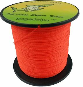 Pro-Orange-PE-4Strength-100-1000M-6-100LB-Fishing-Line