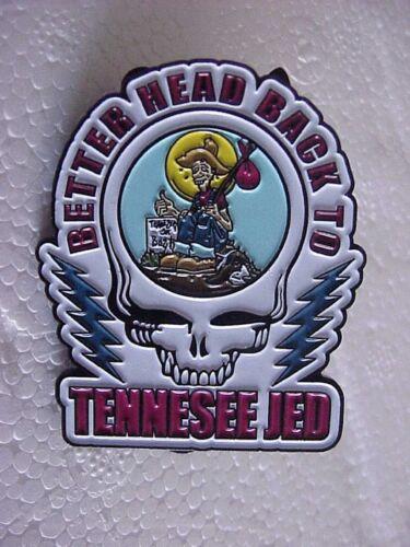 GRATEFUL DEAD DEAD HEAD BETTER HEAD BACK TO TENNESSEE JED 1 3//4 PIN