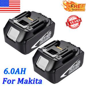 2-xFor-Makita-18V-BL1860-6-0AH-Cordless-Battery-BL1830-BL1840-LXT-LITHIUM-BL1850