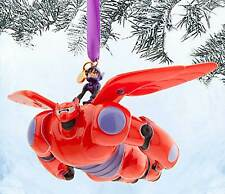 Disney Store Authentic  Hiro and Baymax Mech Sketchbook Ornament - Big Hero 6