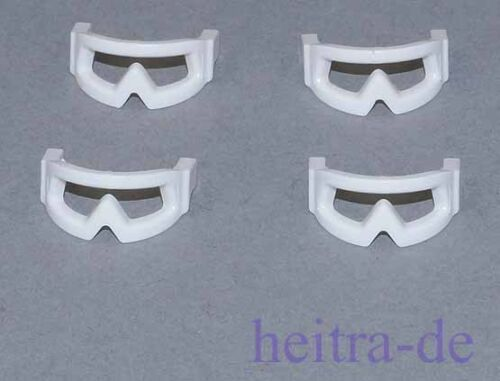 LEGO Star Wars 4 x Occhiali NEVE BIANCO Visor Snow Goggles//46304 merce nuova a2