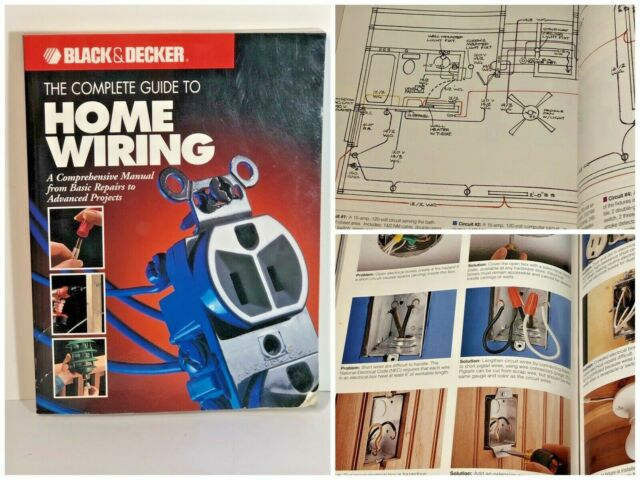 Black And Decker The Comprehensive Manual Complete Guide