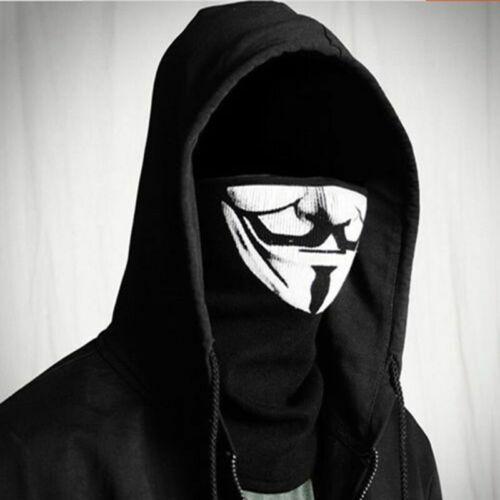 New half face mask Riding Bike Mask Cosplay V for Vendetta Cotton rib fabrics