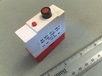 Wylex Push Button Plug In MCB 30amp