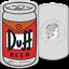 Tuvalu-1-Dollar-2019-Duff-Beer-Die-Simpsons-1-Oz-Silber-PP Indexbild 1