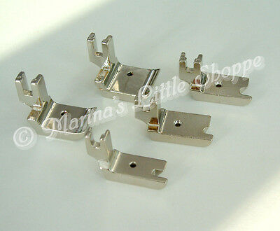 "PRESSER FOOT 36069DG 1//4/"" High Shank Double Welting Piping Cording Alt P69DG1//4"