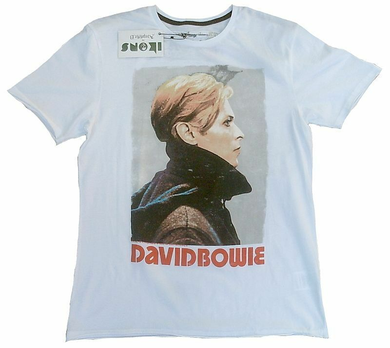 AMPLIFIED Official DAVID BOWIE Heros Rock Star Vintage Cult ViP T-Shirt M 48