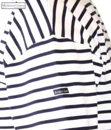 Original navy Cotton Shirt Blue Top Lux Striped Sailor Armor Mens White Breton T p6FqnEw8