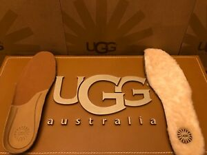 15d4a833a8f Details about New Mens UGG Australia Natural Leather / Sheepskin Insoles  Replacement boots