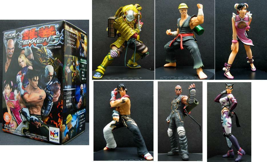 Megahouse figur collection gcc tekken trading abbildung 5.