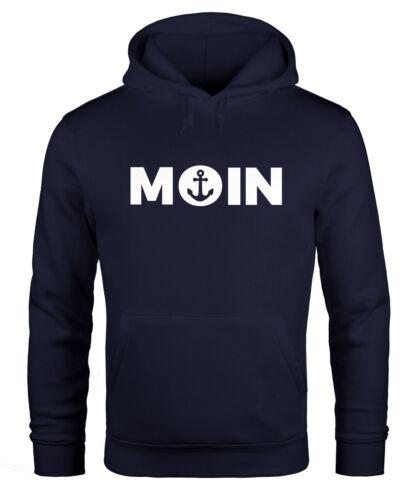 Hoodie uomo Moin cuore con ancoraggio con Cappuccio-Pullover moonworks ®