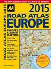 AA Road Atlas Europe 2015 by Aa Publishing (Spiral bound, 2014)