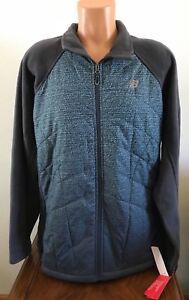 New-Balance-Women-039-s-Size-3X-Full-Zip-Micro-Fleece-Jacket-Gray-Blue