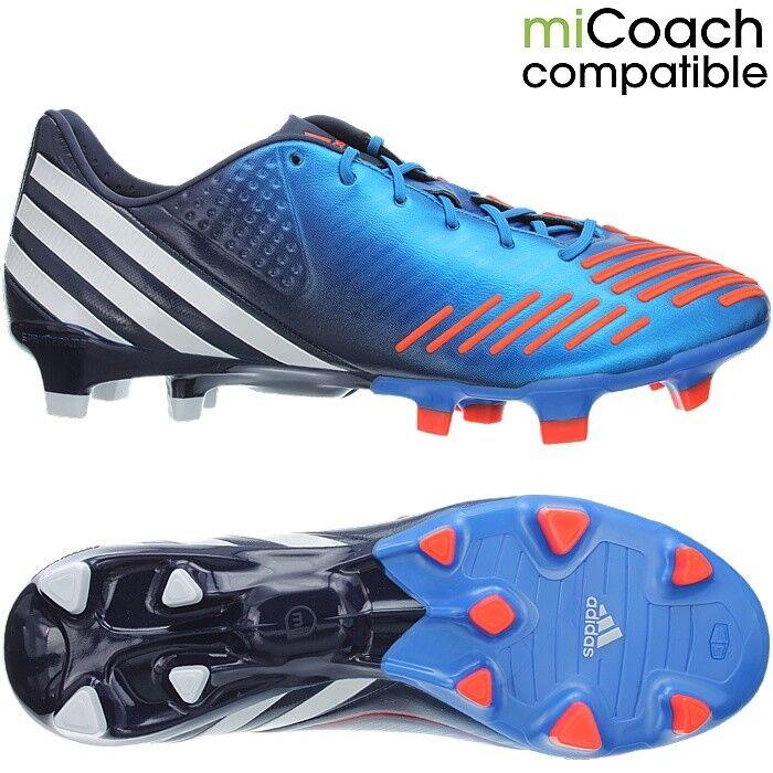 Adidas Projoator Lz Trx Fg Azul blancooo Naranja Profesional para Hombre Botines De Fútbol Nuevo