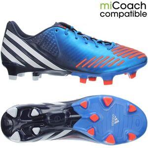 Adidas-Predator-LZ-TRX-FG-blue-white-orange-professional-men-039-s-soccer-cleats-NEW