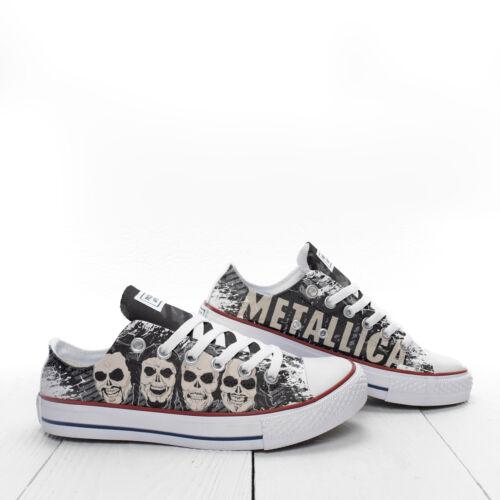 Metallica Heads Skull personnalisées baskets de Prospect Chaussures Avenue CCarxO5nw