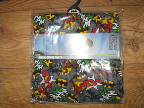 Pantalone uomo Dc da merchandise Rrp Batman per £ 99 Wham ufficiale 14 Comics Hr4wxESHAq
