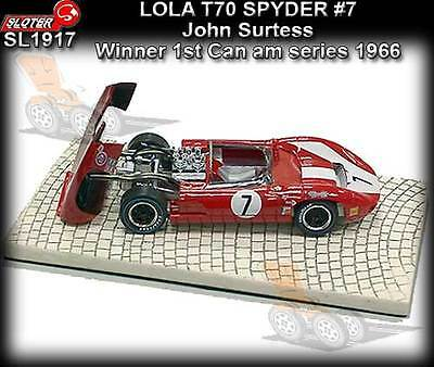 Spielzeug Sloter 9517 Lola T70 Rot Limited Edition Lted.ed Mb Neu 1/32 Neu Special Summer Sale Kinderrennbahnen
