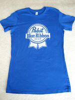 Pabst Blue Ribbon Beer Blue Tee T-shirt X-large Xl Life Is Good Softness