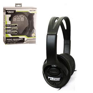 Xbox-360-Live-Pro-Gamer-Headset-with-Mic-BLACK-Komodo