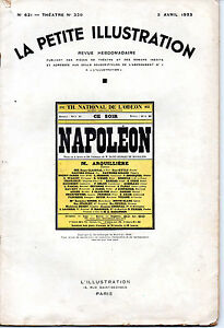La-Petite-Illustration-N-621Theatre-N-320-NAPOLEON-St-Georges-Bouhelier-3-4-1935