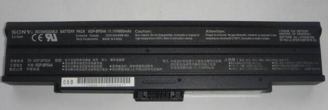 Original Battery Sony Vaio VGP-BPS4A VGP-BPS4 BPS4A BPS4 Genuine