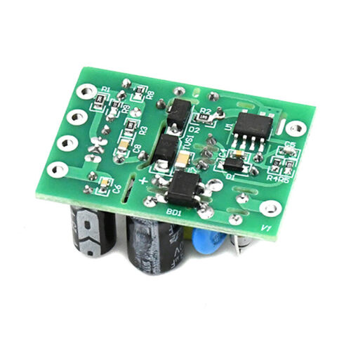 Mini AC-DC Converter AC110V 220V to DC 12V 0.2A+5V Module Board