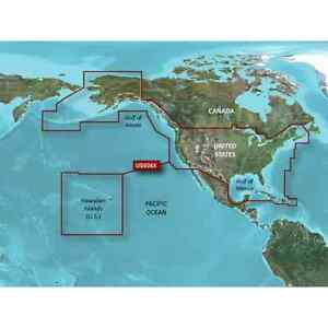 All U S And The West Coast Of Canada Bluechart G2 Hd Maps Microsd