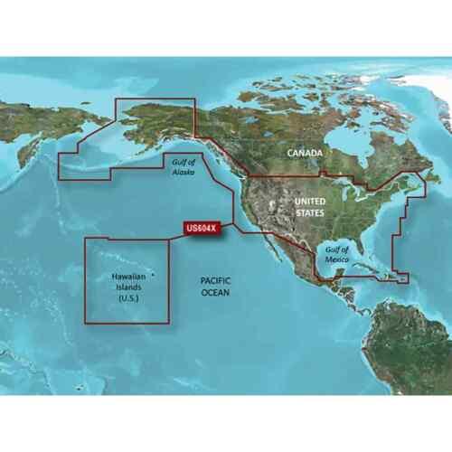 and the West Coast of Canada BlueChart g2 HD Maps microSD Data Card All U.S
