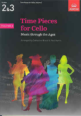 Musical Instruments & Gear Sheet Music & Song Books Time Pieces For Cello Vol 2 Black/harris* Sale Overall Discount 50-70%