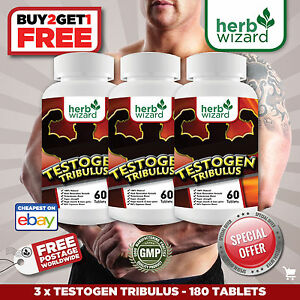 TRIBULUS-TERRESTRIS-SUPER-PLUS-3-MONTH-KIT-96-Saponins-Testosterone-booster